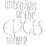 December 2015: Tecknade blyertsbokstäver