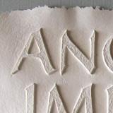 Pappersgjutning/paper casting